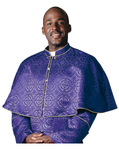 Purple Clergy Shoulder Cape