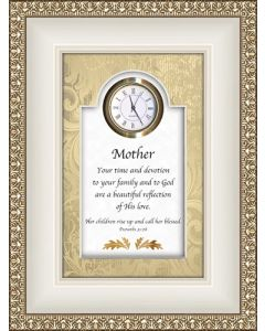 Mother - Proverbs Tabletop Christian Clock