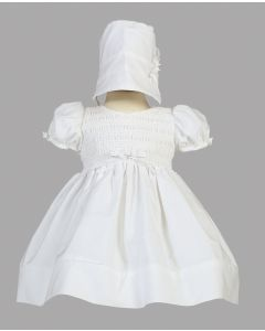 Girls Cotton Christening Dress Style Natalie