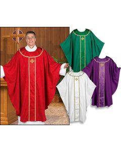 Jacquard Orphrey Chasuble