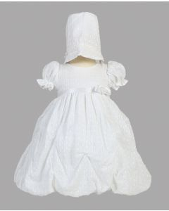 Girls Cotton Christening Dress Style Olivia