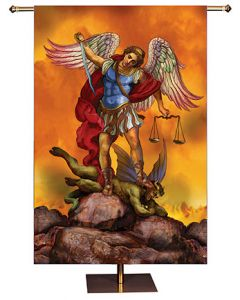 St Michael Church Banner