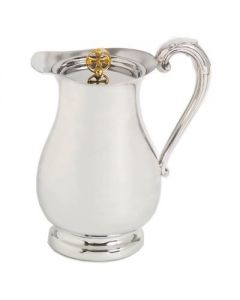 Pewter Church  Flagon with Lid