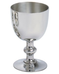Pewter Communion Chalice 5""
