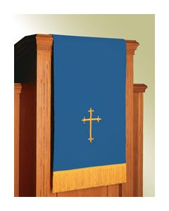 Reversible Lectern Hanging Blue/White