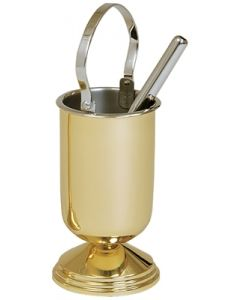 Polished Brass Water Pot with Sprinkler
