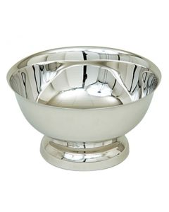 Polished Stainless Steel Baptismal Bowl