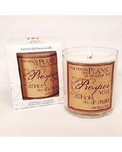 Pomegranate Scented Scripture Candle