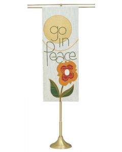 Telescoping Processional Church Banner Stand