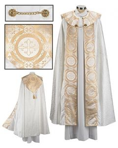 Gold Brocade Clergy Cope