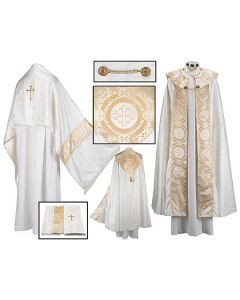 Clergy Cope and Humeral Veil Set