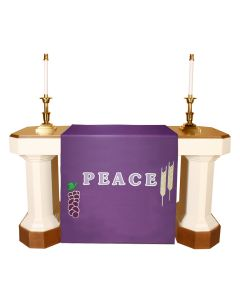Purple Lent  Altar Antependia Celebration Series