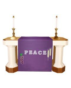 Purple Lent  Altar Antependia Celebration Series
