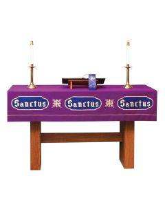 Purple Lent Altar Frontal Asbury Series