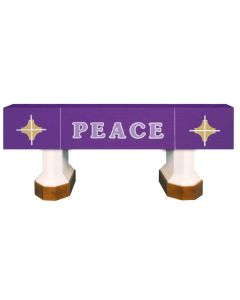 Purple Peace Celebration Series Altar Frontal