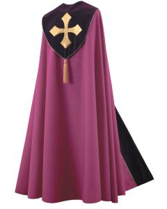 Purple Royal Clergy Cope