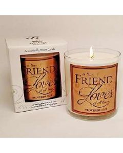Red Curant-True Friend Loves Scented Scripture Candle