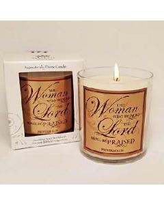 Red Currant-Woman Who Honors Scented Scripture Candle