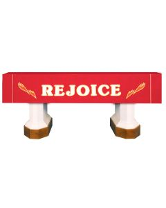 Red Rejoice Celebration Series Altar Frontal