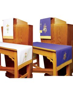 Reversible Lent to Easter Church Parament Set