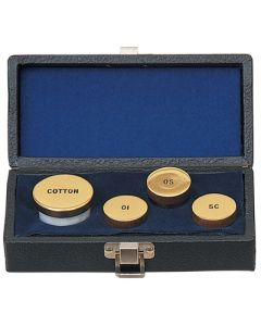 Sacristy Oil Set with Cotton Container