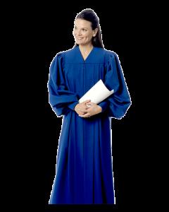 Sapphire Blue Choir Robe