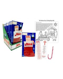 Candy Cane Story Stocking Scripture Candy Case