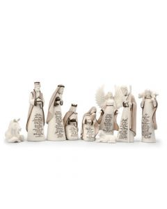 Scriptured Nativity Set