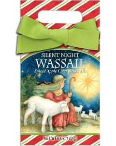 Silent Night Christmas Wassail Spiced Apple Cider Gift Box