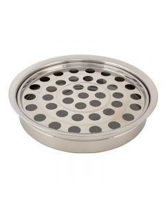 Stackable Silver Finish Communion Tray 40 Servings