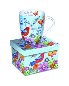 Sing the Joy Christian Coffee Mug Gift Boxed
