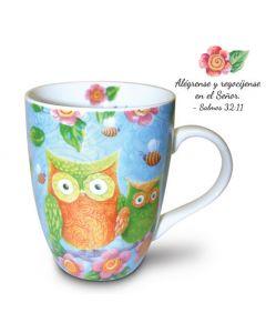 Spanish Owls Psalms Christian Coffee Mug