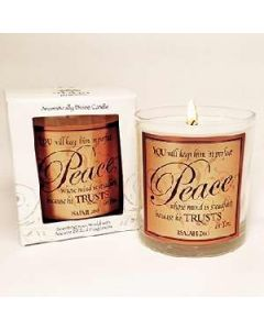 Spikenard He Trusts in You Scented Scripture Candle