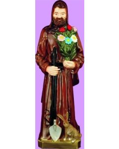 St. Fiacre Outdoor Statue Full Color