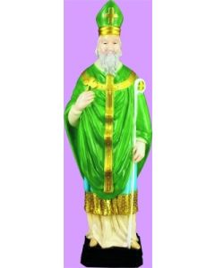 St. Patrick Outdoor Statue Full Color
