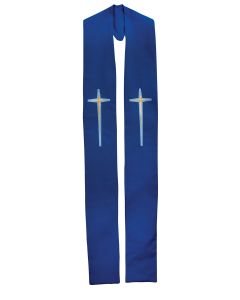 Star Cross Clergy Stole or Deacon Stole