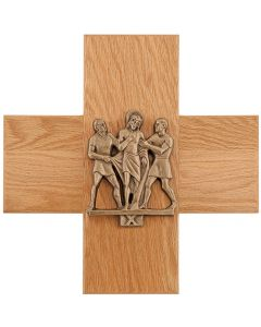 Stations of the Cross on Cross Plaques