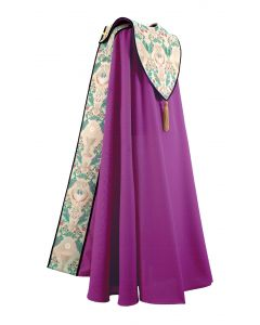 Tapestry of Life Purple Clergy Cope