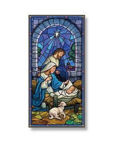 Come Lord Jesus Christmas Church Banner