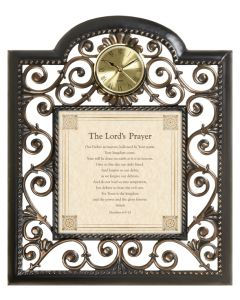 The Lords Prayer Christian Wall Clock