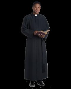 Traditional Bishop Cassock in Black