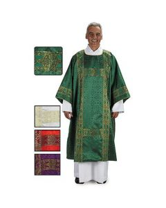 Gold Jacquard Embroidered Deacon Dalmatic