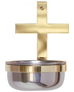 Two Tone Holy Water Font