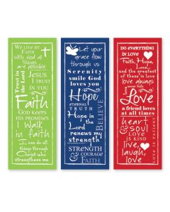 Written Reflections Scripture Church Banner Set