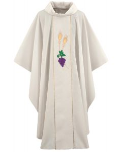 Wheat, Grape and Leaves Chasuble Vestment