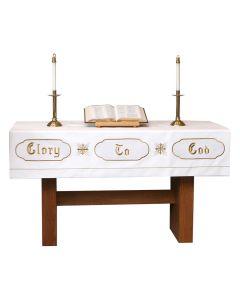 White Christmas Altar Superfrontal Asbury Series