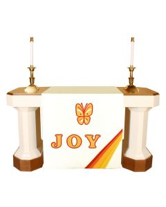 White Joy Altar Antependia Celebration Series