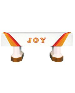 White Joy Celebration Series Altar Frontal