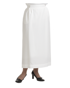 Women's White Clergy Skirt