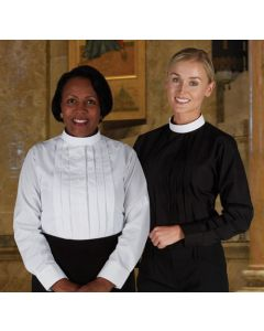 Long Sleeve Womens Clergy Blouses
